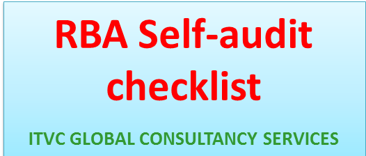 RBA self audit checklist