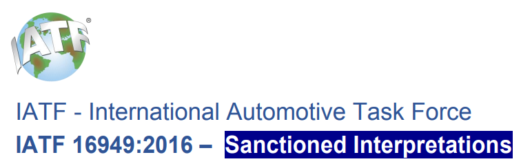 Download IATF 16949:2016 – Sanctioned Interpretations #1~15
